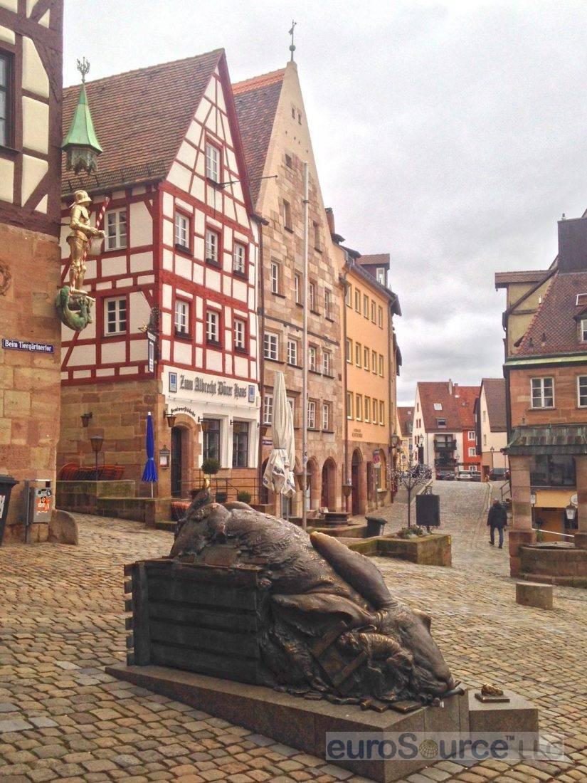 Altstadt Nuremberg Tiergartnerplatz 2016