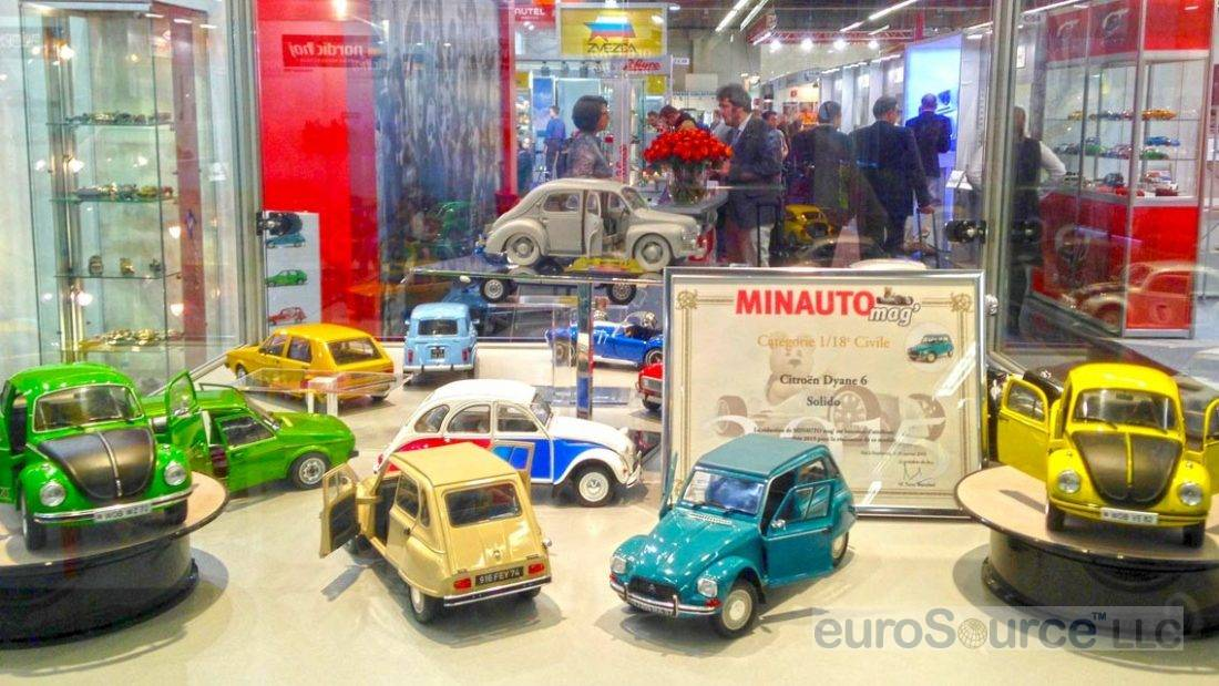 Diecast VW Display Nuremberg 2016
