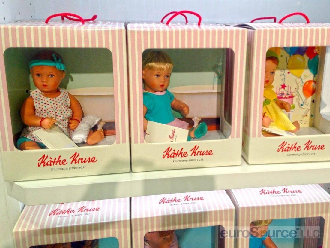 Kathe Kruse Bath Babies Nuremberg 2015