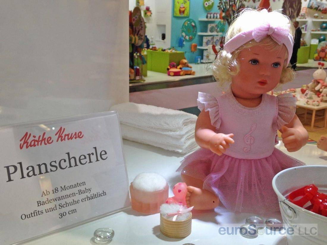 Kathe Kruse Bath Baby Nuremberg 2016