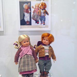 Kathe Kruse Gretel Hansel Collector Dolls Nuremberg 2015