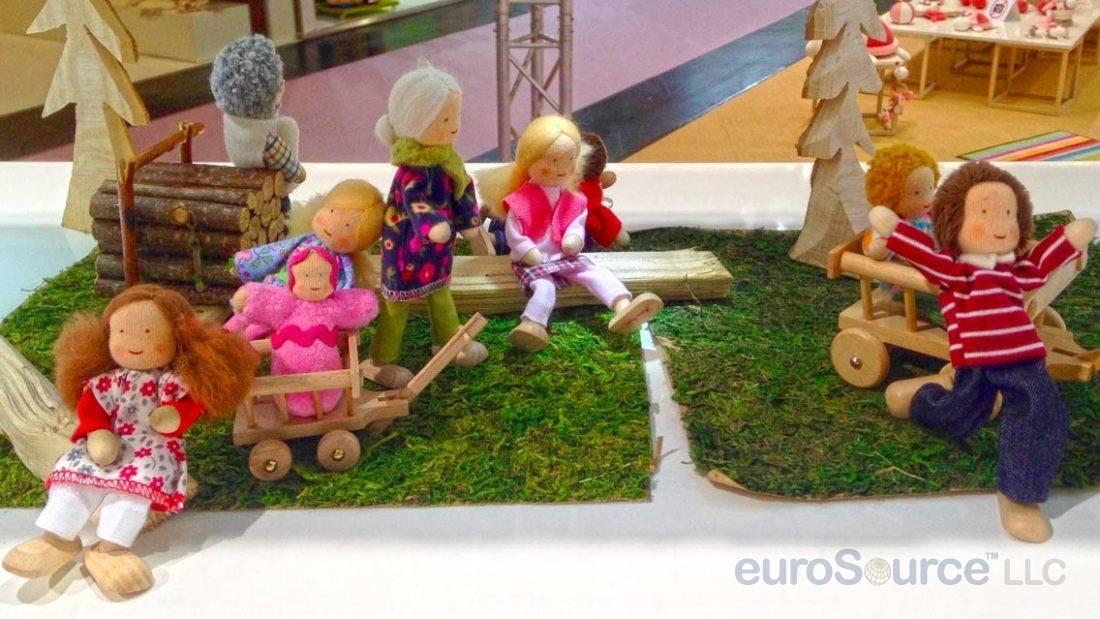 Kathe Kruse Waldorf Miniature Dolls Nuremberg 2016