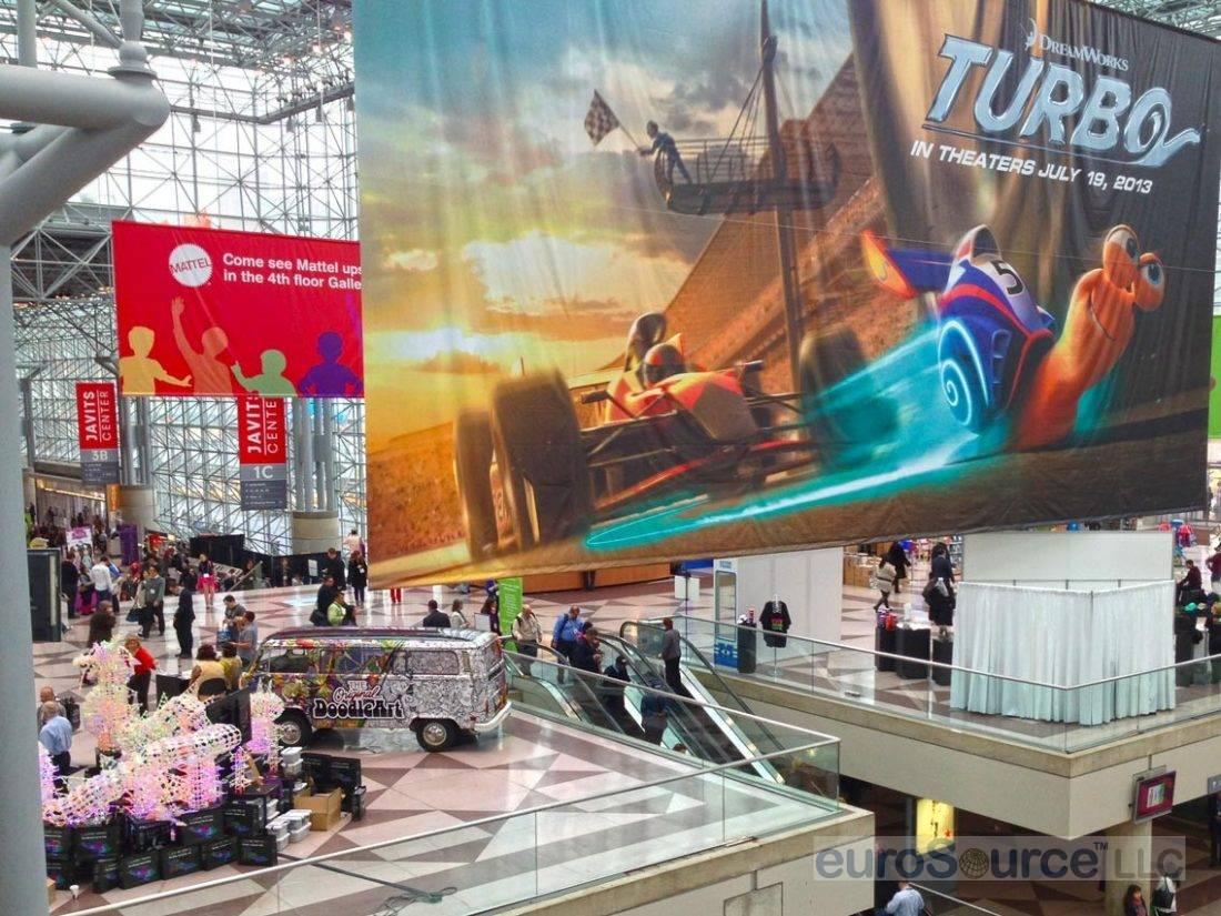 New York Toy Fair 2013 Crystal Palace