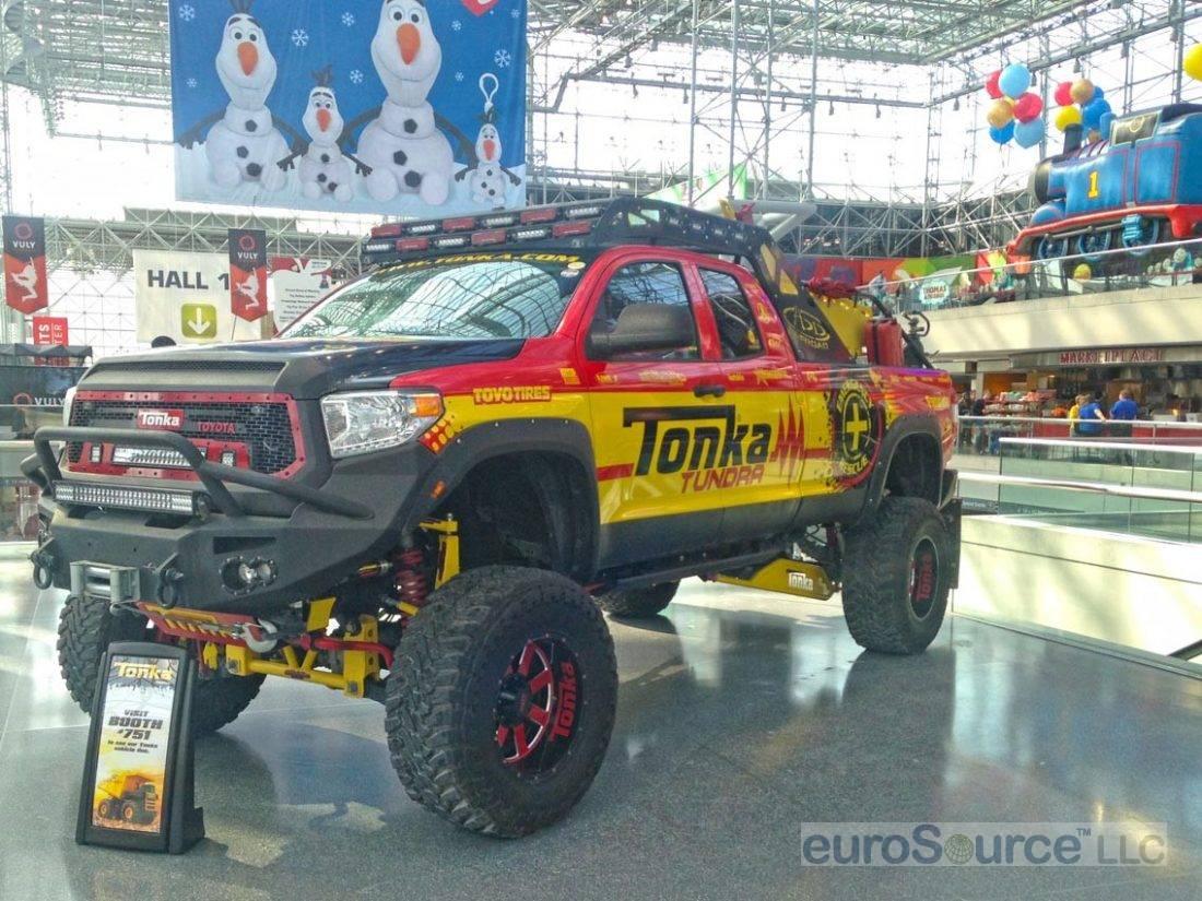 Tonka Tundra Truck New York 2015