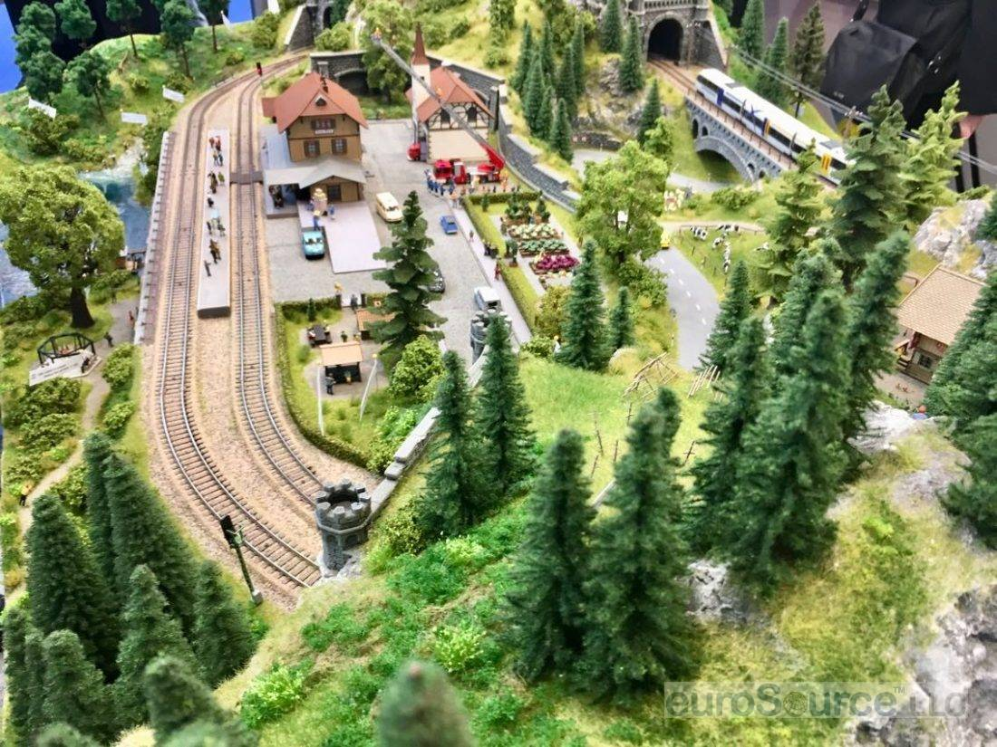 Small Scale Train Setup Nuremberg 2018