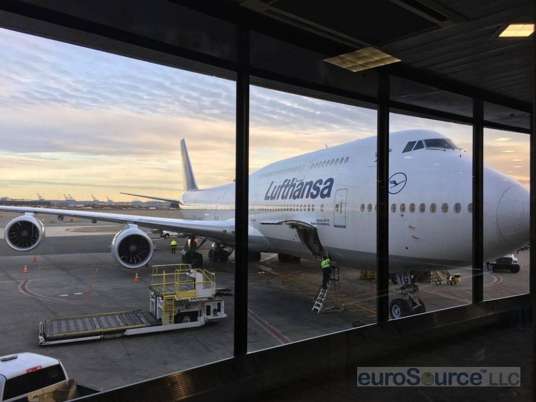 The 747 Ride To Frankfurt