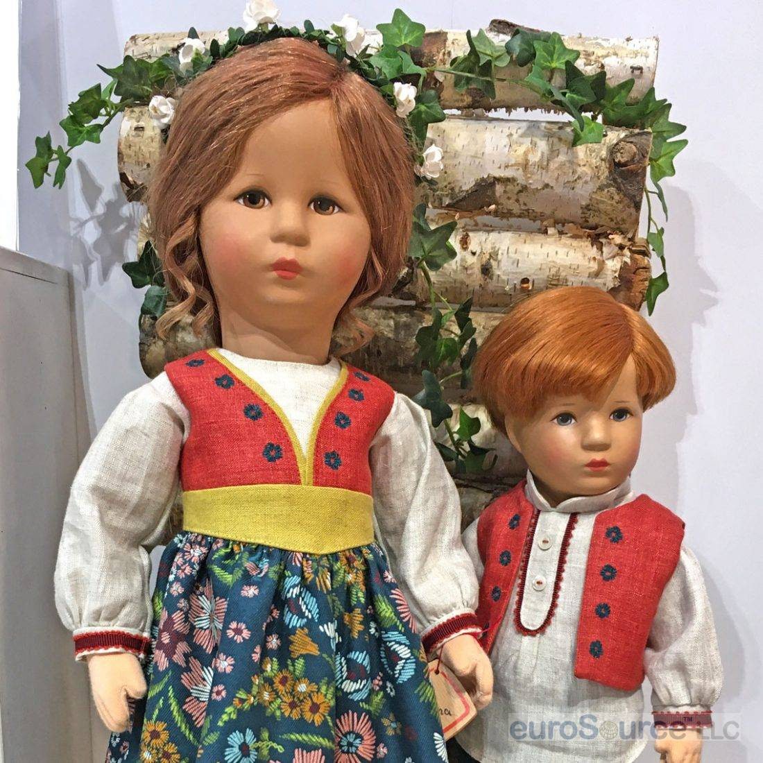 Two Kathe Kruse dolls for collectors