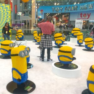 Javitz lobby Minions invasion