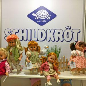 Schildkroet dolls